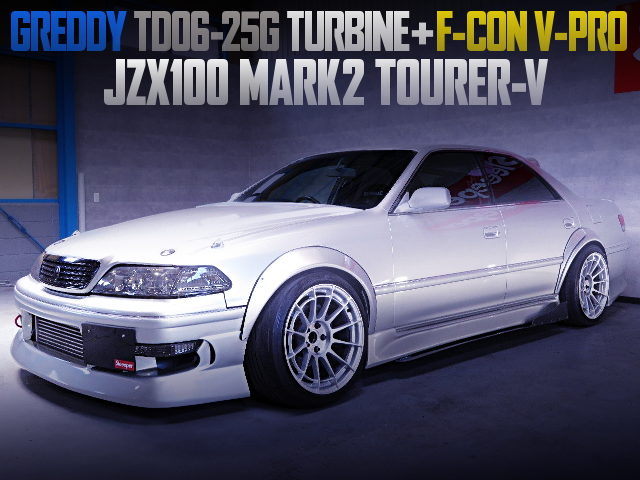 TD06-25G TURBO AND F-CON V-PRO FOR JZX100 MARK2 TOURER-V