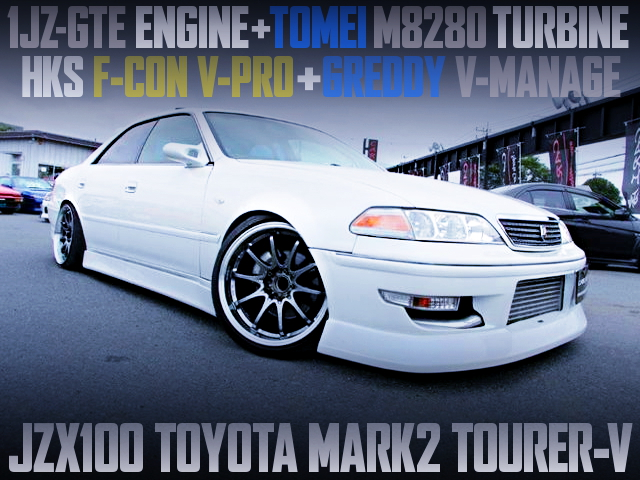 TOMEI M8280 TURBOCHARGED JZX100 MARK2 TOURER-V