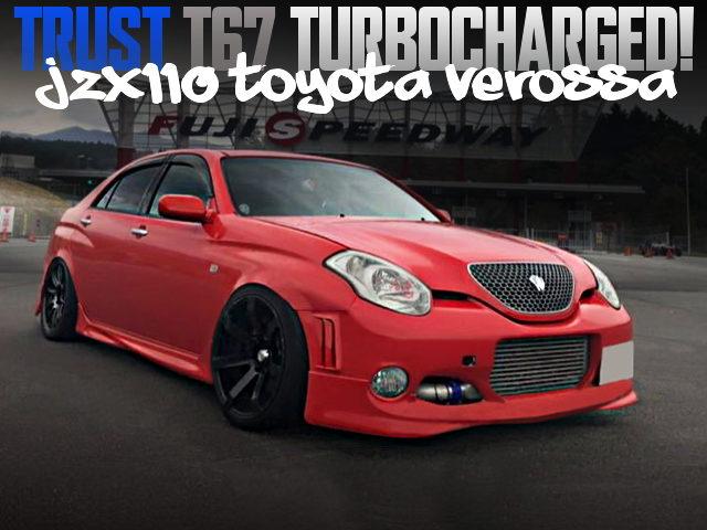 T67 TURBOCHARGED JZX110 VEROSSA FOR DRIFT CAR