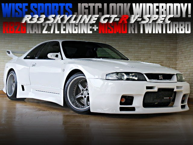 WISE SPORTS JGTC WIDEBODY STYLE OF R33 GT-R V-SPEC