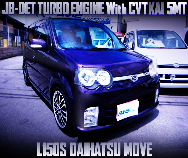 CVT TO 5MT CONVERSION L150S DAIHATSU MOVE