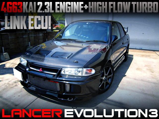 4G63KAI 2300cc HIGH FLOW TURBO WITH EVO3 GSR