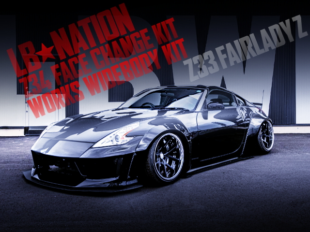 LB-NATION Z34 FACE AND WORKS WIDEBODY OF Z33 FAIRLADY-Z