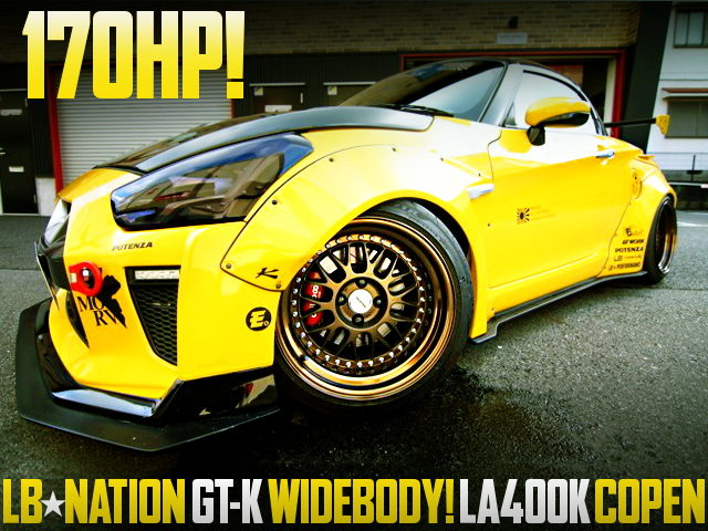 170HP LB-NATION GT-K WIDEBODY LA400K COPEN