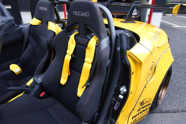 RECARO BUCKET SEATS