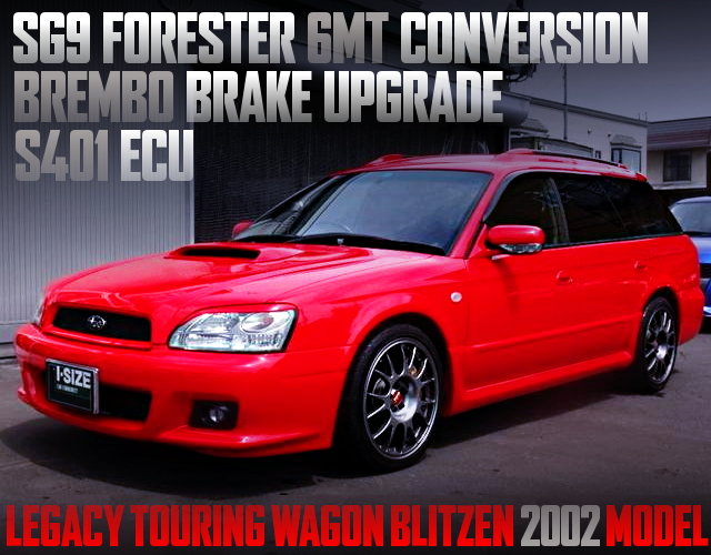 6MT CONVERSION LEGACY TOURING WAGON BLITZEN 2002 MODEL