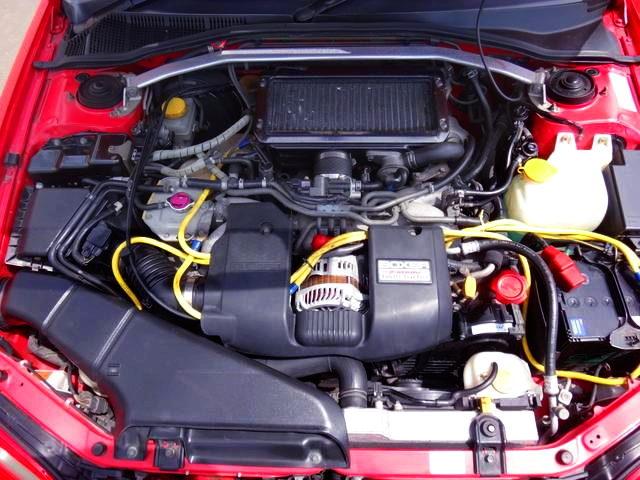 EJ20 TWINTURBO ENGINE