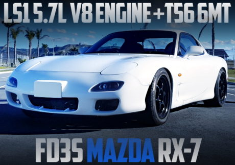 LS1 V8 ENGINE AND 6MT SWAPPED FD3S RX-7