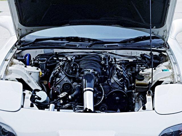 LS1 5700cc V8 ENGINE INTO RX7