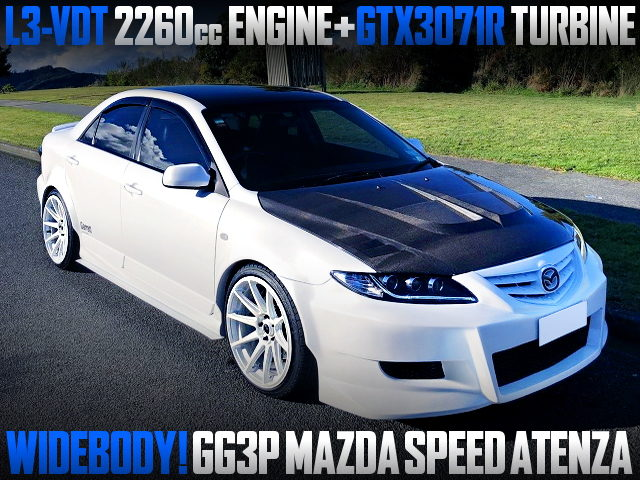 L3-VDT GTX3071R TURBO WITH GG3P MAZDA SPEED ATENZA