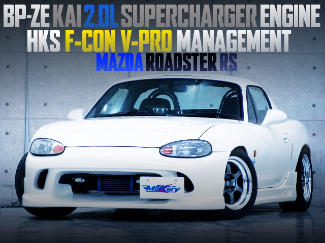 BPZE KAI 2000cc SUPERCHARGER ENGINE INTO NB8C ROADSTER RS