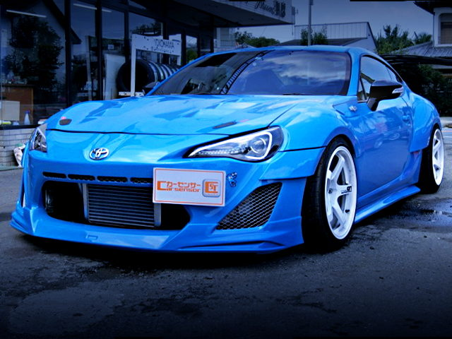 FRONT EXTERIOR TOYOTA 86GT