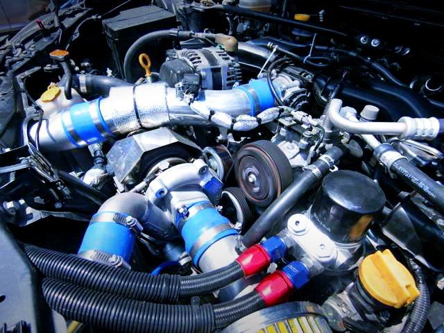 GREDDY T518Z TURBOCHARGED FA20 ENGINE