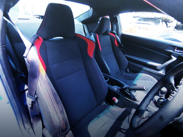 SEATS FOR TOYOTA 86GT INTERIOR