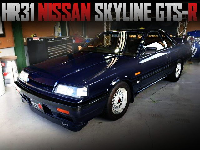 NISSAN HR31 SKYLINE GTS-R