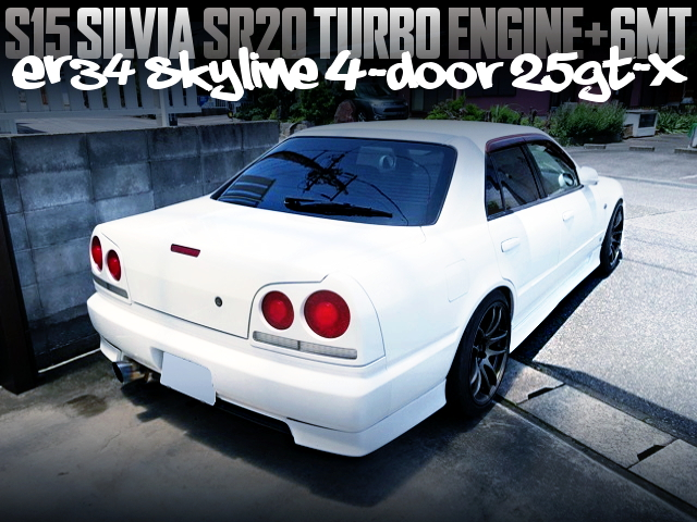 S15 SILVIA SR20DET SWAPPED ER34 SKYLINE 4-DOOR