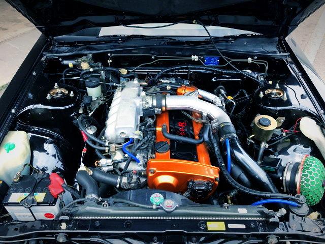 RB25 TURBO ENGINE