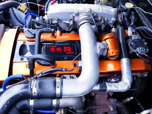 RB25DET HEAD AND AIR INTAKE