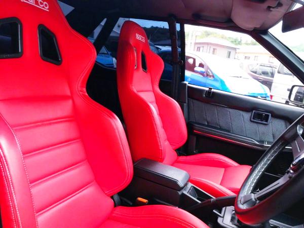 SEMI BUCKET SEATS FOR R31 SKYLINE 4-DOOR
