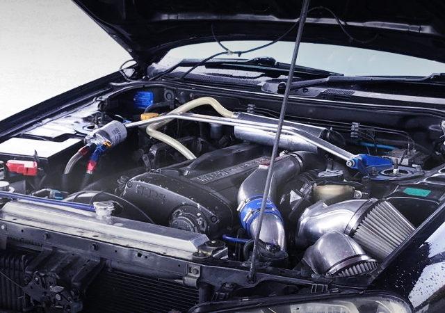 RB26 2600cc TWINTURBO ENGINE