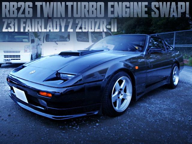 RB26DETT SWAPPED Z31 FAIRLADY-Z 200ZR-II