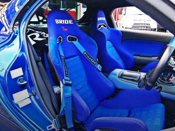 BRIDE BUCKET SEATS FOR RX7 CABIN