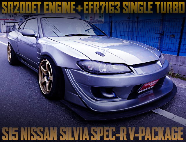 GCG EFR7163 TURBO AND WIDEBODY FOR S15 SILVIA SPEC-R V-PACKAGE