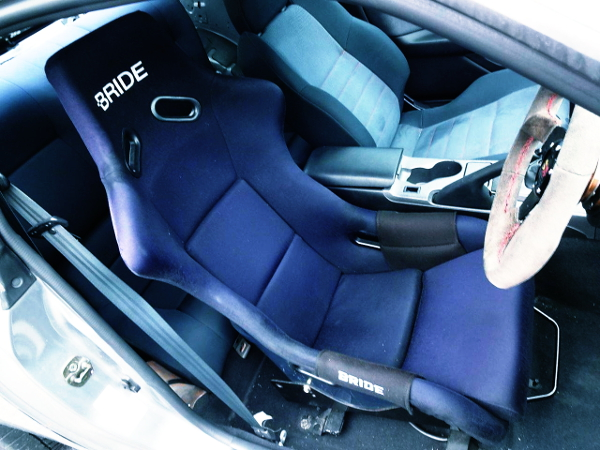 DRIVER POSITION AT BRIDE FULL BUCKET SEAT