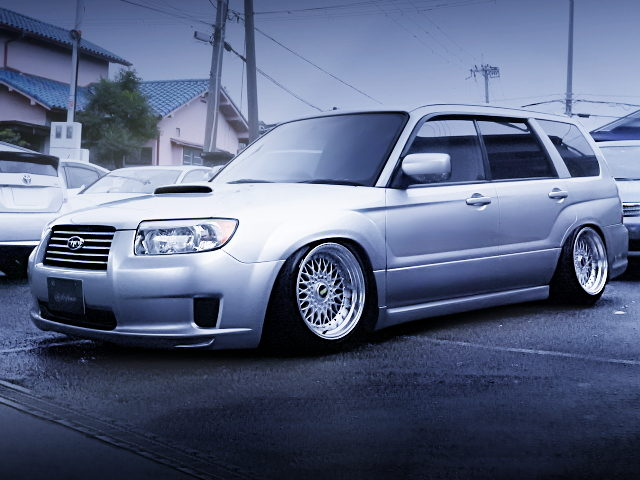 FRONT EXTERIOR SG5 FORESTER CROSS SPORTS