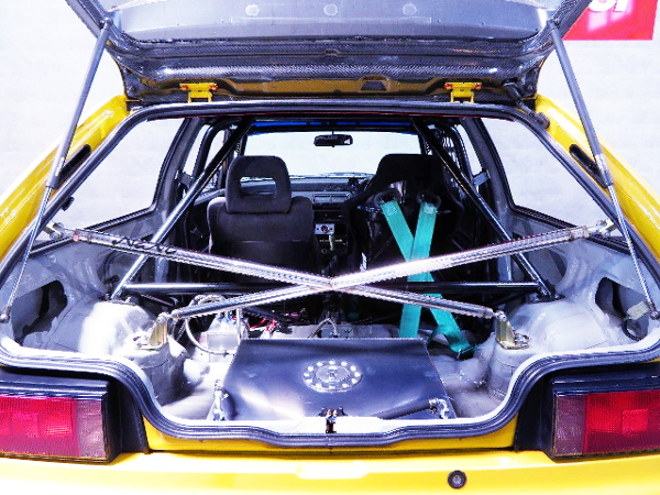 INTERIOR ROLL CAGE AND CROSS BAR