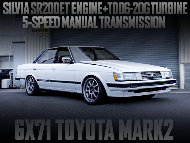 SR20 TURBO ENGINE SWAPPED GX71 MARK2