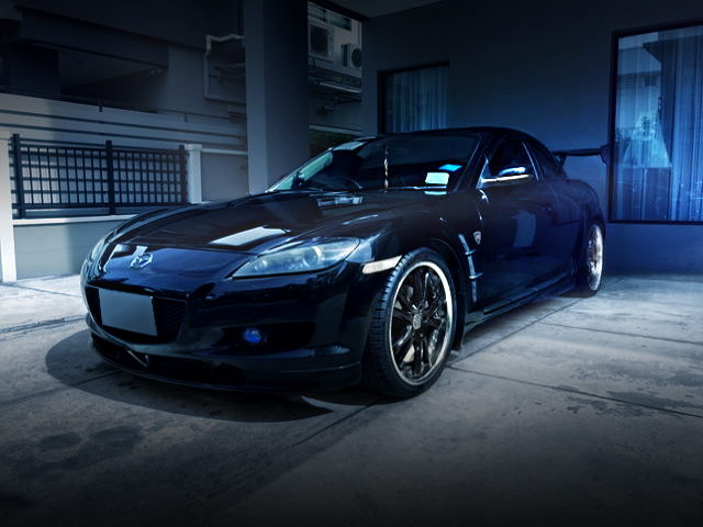 FRONT EXTERIOR FOR SE3P MAZDA RX8