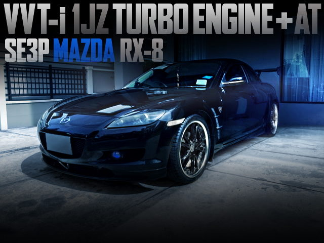 VVTi 1JZ TURBO ENGINE AND AT SWAPPED SE3P RX8
