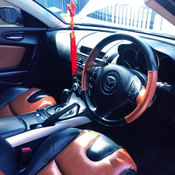 INTERIO RX8 DASHBOARD