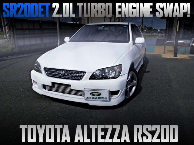 SR20 TURBO ENGINE SWAPPED SXE10 ALTEZZA RS200