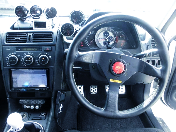 ALTEZZA GAUGES AND MOMO STEERING