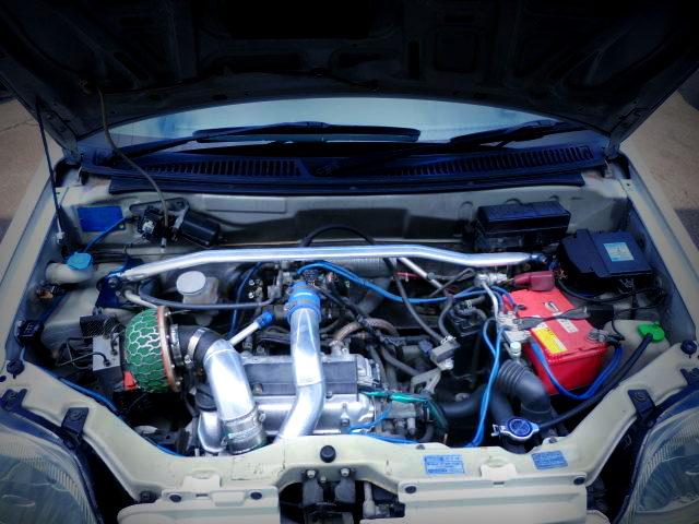 K6A DOHC TURBO ENGINE FOR HN22S Kei