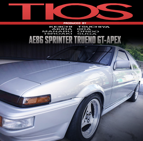 TIOS COMPLETE CAR FOR AE86 TRUENO GT APEX