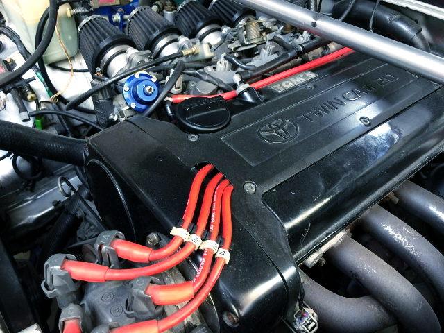 BLACK TOP 20V 4AG ENGINE