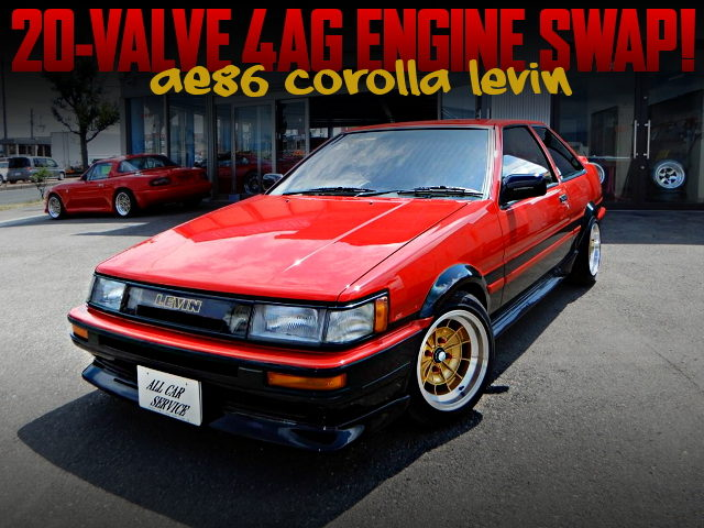 RESTORATION AND 20V 4AG SWAPPED AE86 COROLLA LEVIN