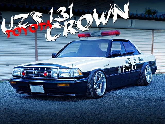 JDM POLICE CAR REPLICA OF UZS131 V8 CROWN