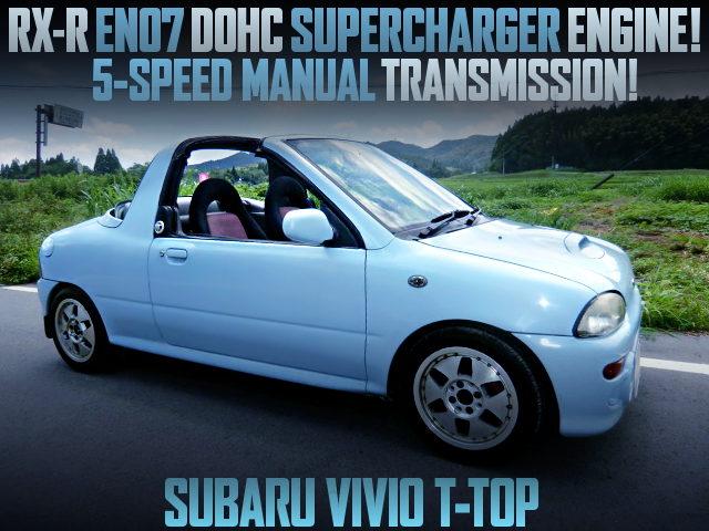 SUPERCHARGED EN07 DOHC ENGINE SWAPPED KY3 VIVIO T-TOP