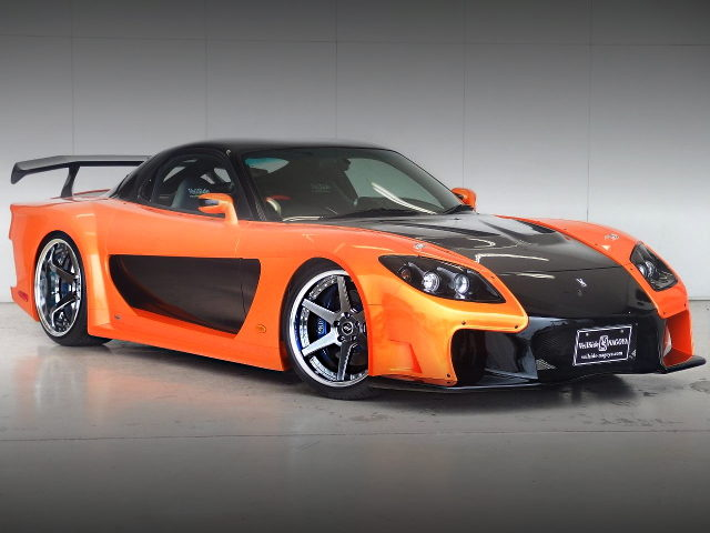 FRONT EXTERIOr FD3S RX-7 FORTUNE BODY