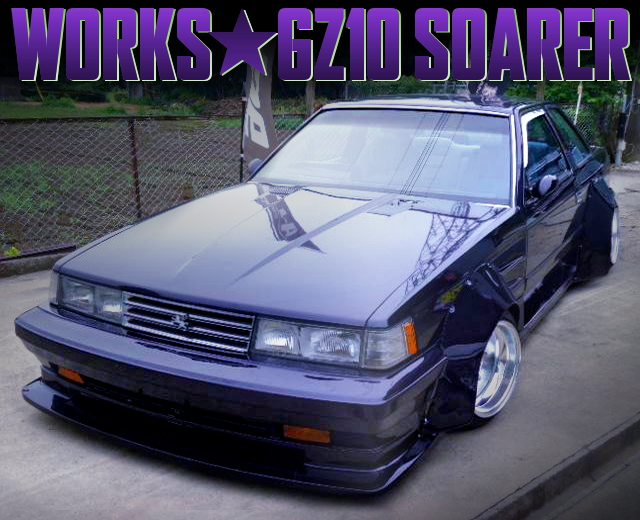 WORKS WIDEBODY OF KAIDO RACER GZ10 SOARER