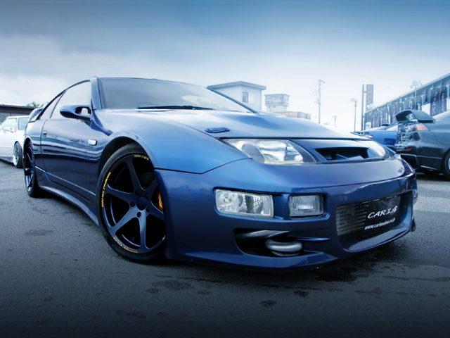 FRONT EXTERIOR Z32 FairladyZ 300ZX DARK BLUE