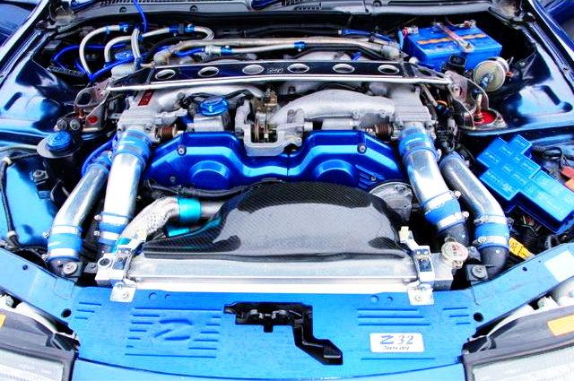 VG30DETT 3000cc V6 TWIN TURBO ENGINE OF Z32 FAIRLADY Z