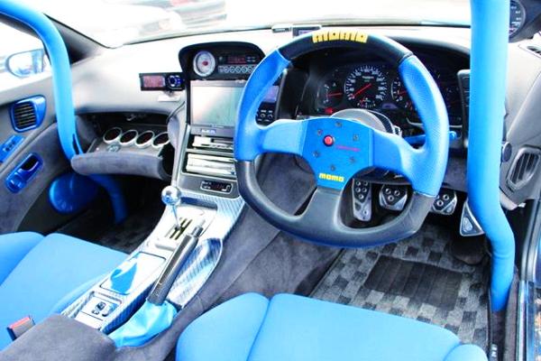 Interior DASHBOARD Of Z32 FairladyZ