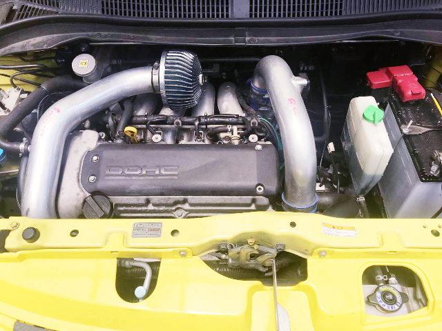 TURBOCHARGED M16A ENGINE