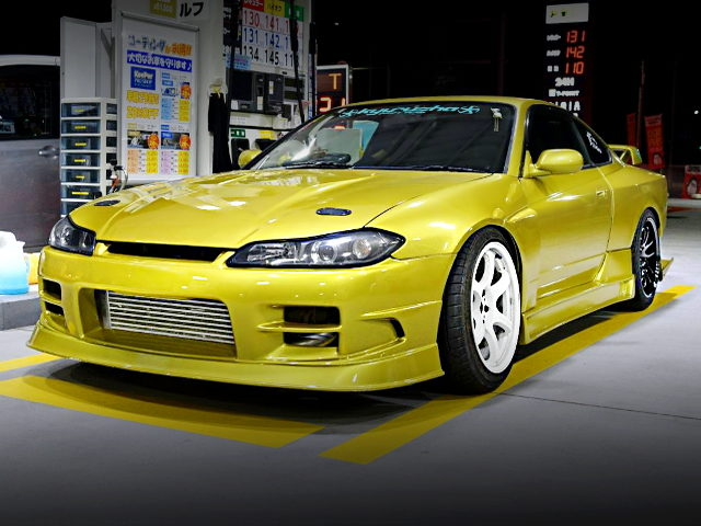 FRONT EXTERIOR 7th Gen S15 SILVIA OF BMW YELLOW
