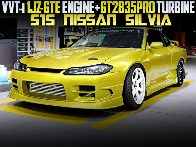 1JZ-GTE GT2835PRO TURBO ENGINE SWAP S15 SILVIA